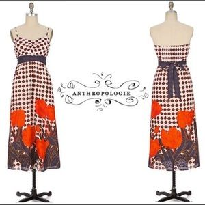 Great Anthropologie Dress - Strapless Size 8